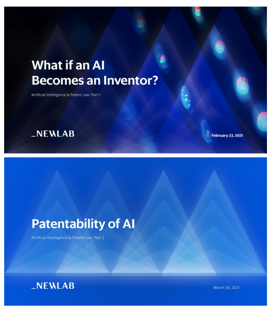 Artificial Intelligence & Patent Law
